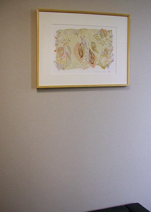 版画/油性木版・シルクスクリーン白駒一樹瑠璃森