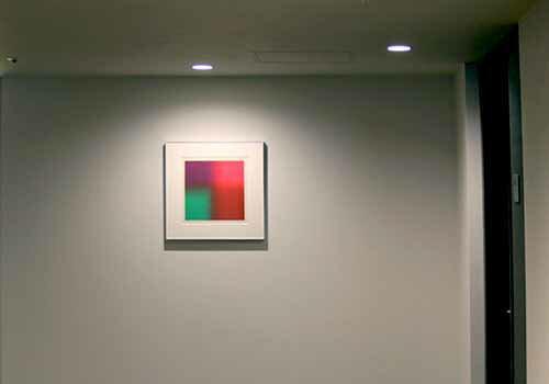 百瀬寿RedtoG現代アート/抽象/版画/シルクスクリ-ン