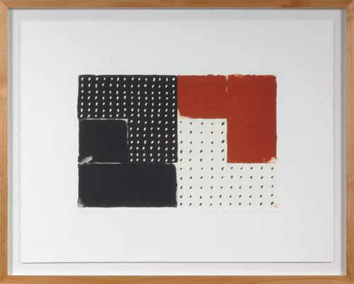 坪田政彦玄・描・彩-A現代アート/抽象/版画/リトグラフ・シルクスクリーン