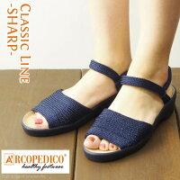 【アルコペディコ/ARCOPEDICO-SHARP-】アルコペディコ/シャープ/ニットサンダル/レディース
