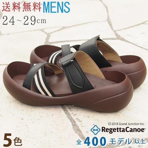 リゲッタ カヌー サンダル メンズ クロスベルトストライプサンダル 日本製 RegettaCanoe 正規取扱店 歩きやすい CJBF5110 CJBF5139 父の日 ギフト セール