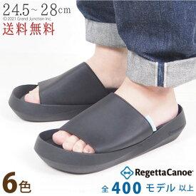 リゲッタ カヌー メンズ サンダル おしゃれ 大きいサイズ オフィス コンフォートサンダル つっかけ カバーサンダル サボ 軽い 幅広 疲れない 履きやすい 甲高 痛くない 歩きやすい カヌーサンダル 日本製 おしゃれ かっこいい