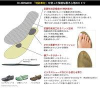Dr.NOMADO/中敷き/インソール/メンズ/レディース/ビジネス/靴/パンプス/足袋/形状記憶/疲れにくい/薄型/衝撃吸収/Nomado/ノマド/特許素材/SUNNYNOMADO