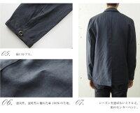 [GrandJunction-Relax]リネンテーラードジャケット/メンズ/リラックス/100%麻素材/春/秋/クールビズ