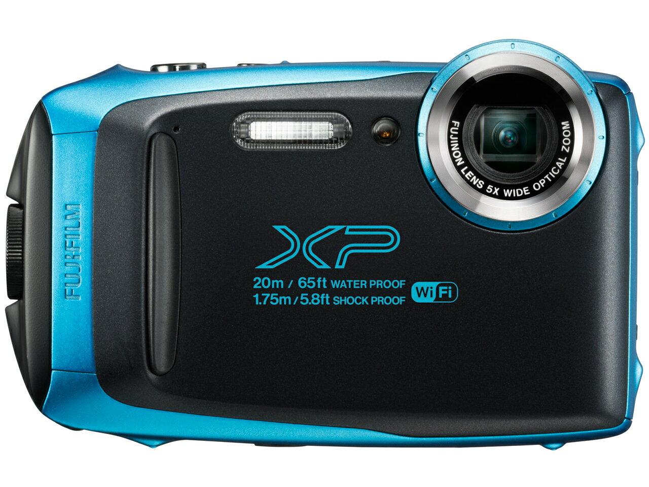 新品 FUJIFILM FinePix XP130 スカイブルー 有効画素数 1640万画素 防水 光学ズーム5倍 在庫有り フジ