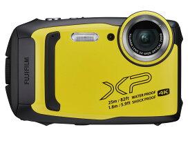 新品 FUJIFILM FinePix XP140 イエロー 有効画素数 1635万画素 防水 光学ズーム5倍 在庫有り フジ
