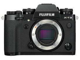 新品 FUJIFILM X-T3 ボディ [ブラック] 富士フィルム
