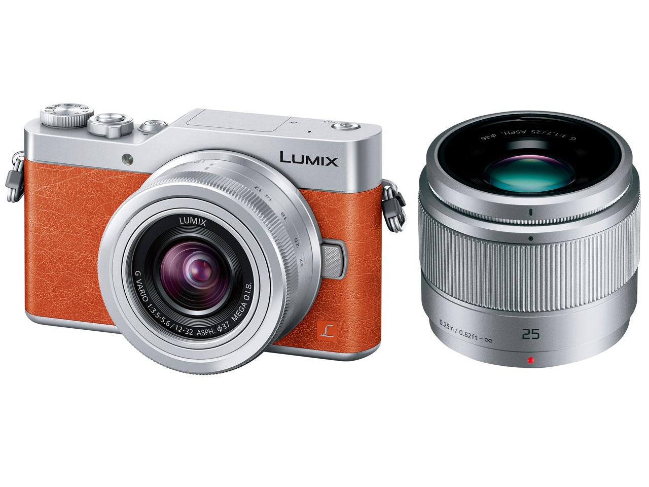 新品 Panasonic LUMIX DC-GF9W-D ダブルレンズキット オレンジ 在庫有り 送料無料 パナソニック