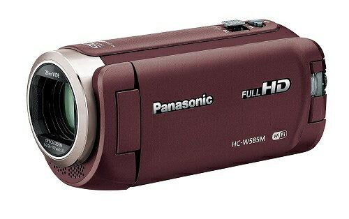 【新品】Panasonic パナソニック HC-W585M-T [ブラウン] 在庫有り