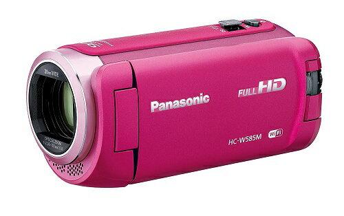 【新品】Panasonic パナソニック HC-W585M-P [ピンク]【在庫有り】