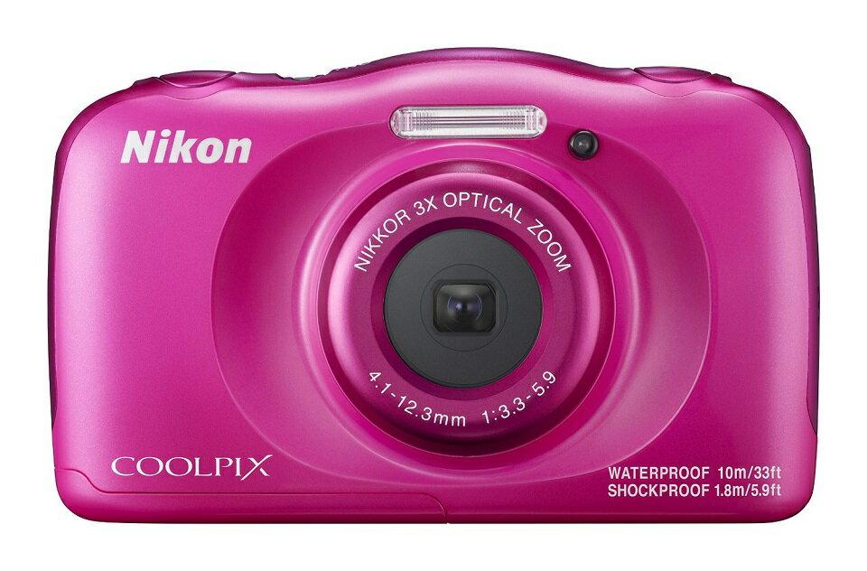Nikon ニコン COOLPIX W100 ピンク 在庫あり