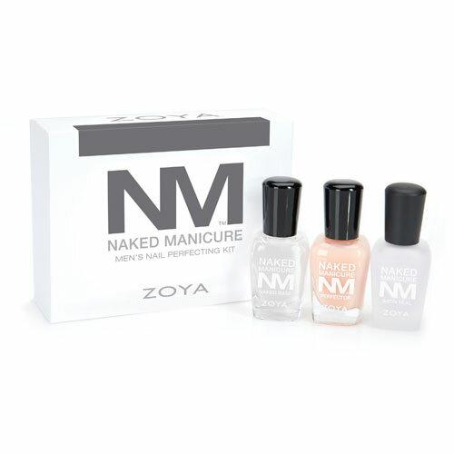 【ポイント10倍】 ZOYA (ゾーヤ) ネイキッドマニキュア ネイルカラー メンズキット 【ネコポス不可】