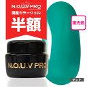 【3点購入でジェルブラシプレゼント♪】 NOUV Pro (ノーヴプロ) ジェルネイル カラージェル 4g I11 ターコイズグリーン 【ネコポス対応】
