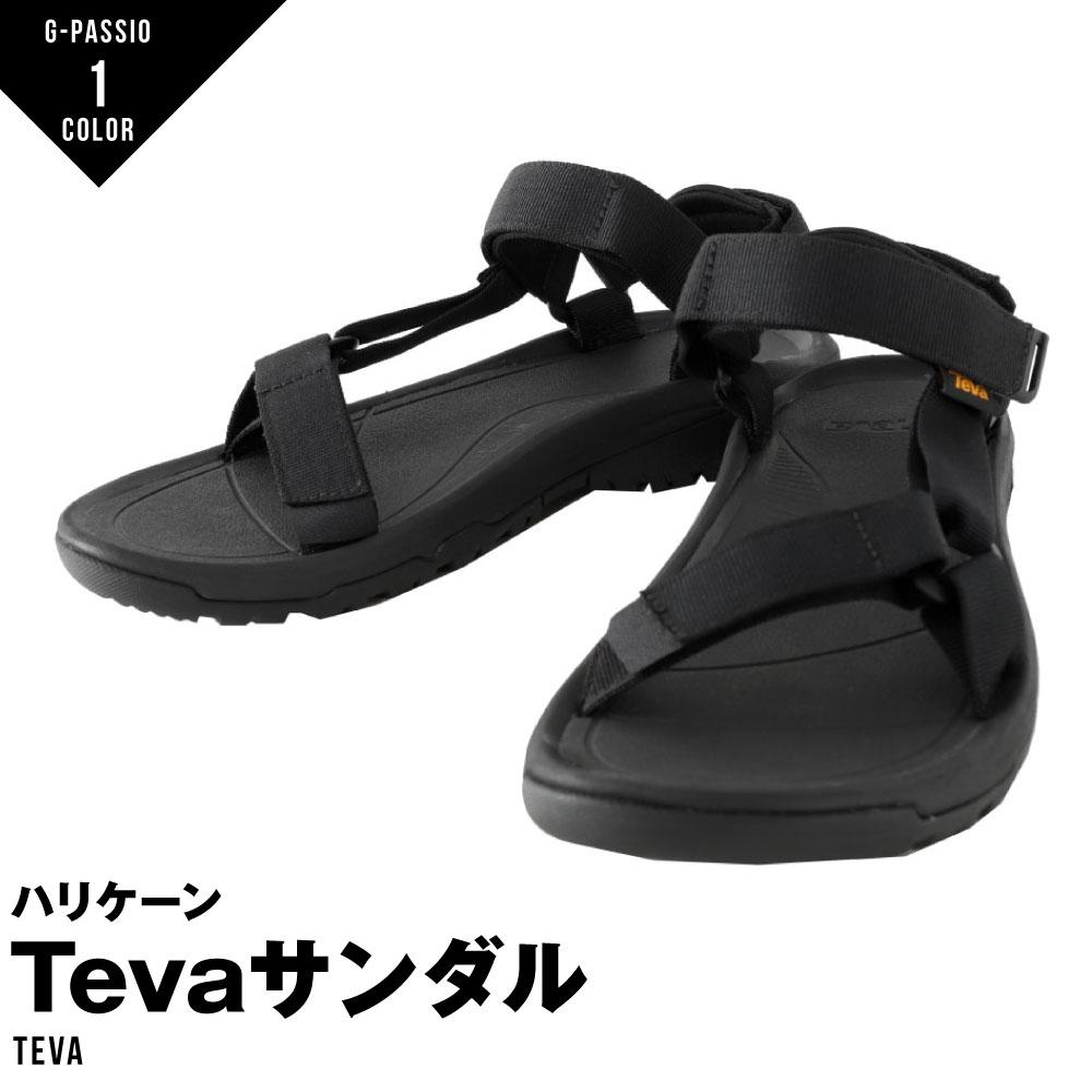 テバ Teva ハリケーン メンズ サンダル スポーツサンダル ストラップサンダル ストラップ ビーチ アウトドア 無地 ブラック HURRICANE XLT2