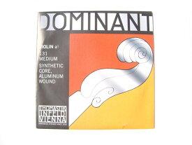 バイオリン弦 ドミナント A131 Dominant No.131 a1 A線 4/4 ナイロン・アルミ巻 THOMASTIK トマスティック社【smtb-kd】【RCP】