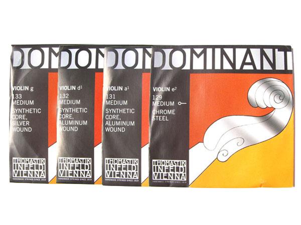 【ポスト投函】バイオリン弦 ドミナント EADG線セット (E線 ボールエンド) Dominant 4/4 THOMASTIK トマスティック社【smtb-KD】【RCP】【P2】