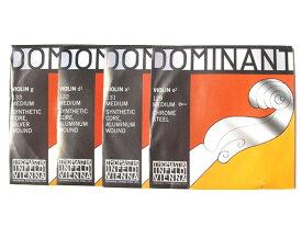 バイオリン弦 ドミナント EADG線セット (E線 No.129 ボールエンド) Dominant 4/4 THOMASTIK トマスティック社【smtb-KD】【RCP】