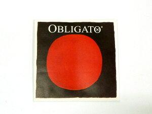 バイオリン弦 PIRASTRO OBLIGATO G4114 1/4+1/8サイズ用 G線 シンセティックファイバー/シルバー巻 ピラストロ オブリガート