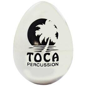 【ポスト投函】TOCA T-2105 White Egg Shakers T2105 White エッグシェイカー ホワイト 1個 マラカス シェーカー Percussion パーカッション トカ【smtb-KD】【RCP】