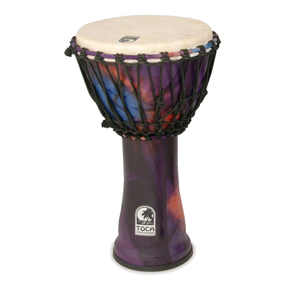 TOCA Toca Products SFDJ-10WP Freestyle Djembe, 10inch, Purple ジャンベ 10インチ パープル Percussion パーカッション SFDJ10WP【smtb-KD】【RCP】【P2】
