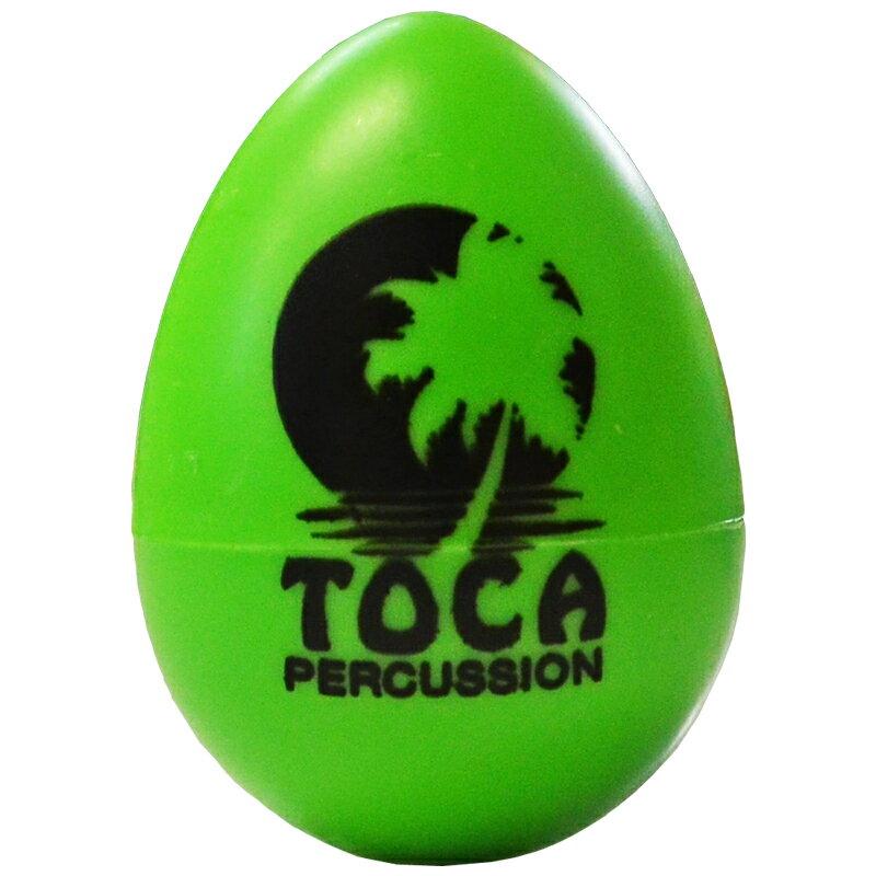 TOCA T-2106 Egg Shaker Rainbow GR T2106 Rainbow GR エッグシェイカー グリーン 1個 マラカス シェーカー Percussion パーカッション トカ【smtb-KD】【RCP】