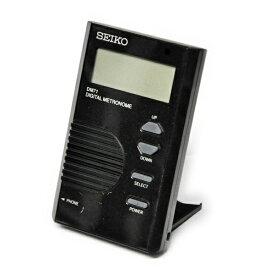 【ポスト投函】SEIKO DM71B ブラック デジタルメトロノーム カードサイズで使いやすい! セイコー【P2】