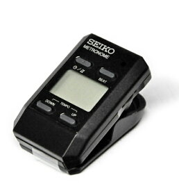 【ポスト投函】SEIKO DM51B ブラック クリップタイプ デジタルメトロノーム セイコー【P2】