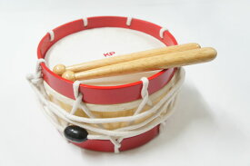 【ラッピング無料!】キッズパーカッション KP-320/KD/RE キッズドラム 太鼓 たいこ Kids Percussion MUSIC FOR LIVING NAKANO ナカノ 楽器玩具 知育玩具【楽ギフ_包装選択】【楽ギフ_のし宛書】【smtb-kd】【RCP】【P2】