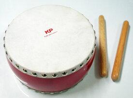 【ラッピング可】【あす楽対応】キッズパーカッション KP-390/JD/RE レッド きっずわだいこ 和太鼓 たいこ Kids Percussion MUSIC FOR LIVING NAKANO ナカノ 楽器玩具 知育玩具【smtb-kd】【RCP】【P5】