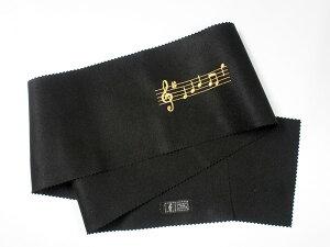 【追跡番号付発送】ピアノキーカバー CO-120K/OP/BL 音符/ブラック CO120KOPBL ナカノ NAKANO 音楽雑貨 ケンバンカバー MUSIC FOR LIVING【smtb-KD】【RCP】