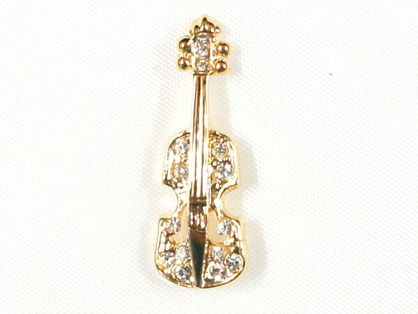 【ポスト投函】スワロフスキークリスタル ジュエルミニピン JP-16/VI バイオリン ナカノ NAKANO 音楽雑貨 ギフトや記念品にも PICKBOY MUSIC FOR LIVING【smtb-kd】【RCP】【P2】