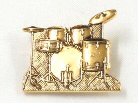 【ポスト投函】ミニチュアブローチ ドラムセット/ゴールド MM-80P/DR/G ナカノ NAKANO 音楽雑貨 ギフトや記念品にも PICKBOY MUSIC FOR LIVING【P2】