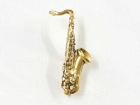 【ポスト投函】ミニチュアブローチ テナーサックス/ゴールド MM-80P/TSX/G ナカノ NAKANO 音楽雑貨 ギフトや記念品にも PICKBOY MUSIC FOR LIVING【P2】