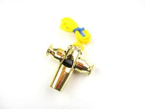 【18日までポイント10倍!】PICKBOY(ピックボーイ) サンバホイッスル ゴールド SW-60/G ナカノ NAKANO 音楽雑貨 ABS樹脂製 通学・通園の防犯対策にも【P2】