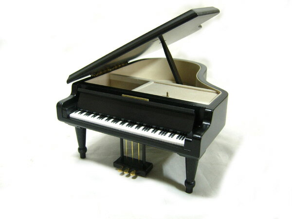 【国内どこでも送料無料】Sankyoオルゴール 木製18弁グランドピアノ(黒) L AA-294A/AA294A サンキョー製 主よ人の望みの喜びを (カンタータ第147番) グランドピアノ型 (小物入れ) 日本電産サンキョー商事【smtb-KD】【RCP】