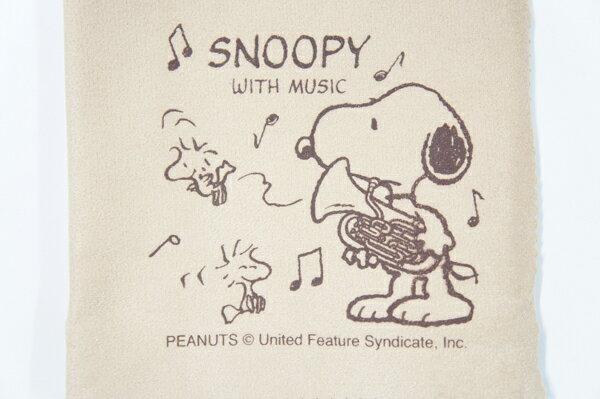 【ポスト投函】SNOOPY with Music SCLOTH-EP ユーフォニアム柄クリーニングクロス スヌーピーバンドコレクション/SNOOPY BAND COLLECTION【smtb-KD】【RCP】【P2】