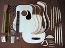 HOSCO アコースティックギター組立キット GR-KIT-D2 ドレッドノートタイプ マホガニー スプルース合板仕様 楽器…