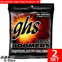 GHS ベース弦 M3045X×2セット Bass Boomers LONG SCALE PLUS(34-36)【smtb-kd】【RCP】【P2】