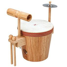 【ラッピング無料!】キッズパーカッション KP790YD よくばりドラム Kids Percussion MUSIC FOR LIVING NAKANO ナカノ 楽器玩具 知育玩具【smtb-kd】【RCP】【P2】