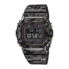 【12月再入荷予定】CASIO カシオ G-SHOCK Gショック フルメタルスクエア チタン カモフラージュ柄 GMW-B5000TCM-1JR 腕時計※予約期間中はカード決済のみの対応となります※