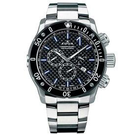 【ノベルティプレゼント】 EDOX(エドックス) クロノオフショア1 メンズ クロノグラフ デイト表示 10221-3M-NIBU2 腕時計