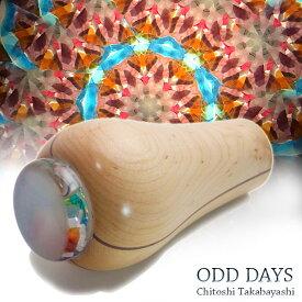 高林 千稔(Chitoshi takabayasi)【Odd Days white】ホワイト【万華鏡】【カレイドスコープ】【オイルタイプ】【楽ギフ_包装】【保証】【送料無料】