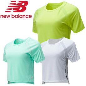 【あす楽対応】20SS New Balance(ニューバランス) NBRC ショートスリーブ Tシャツ AWT01224 レディース