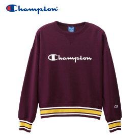 チャンピオン スウェットシャツ クルーネック レディース CW-QS002-109 19FW