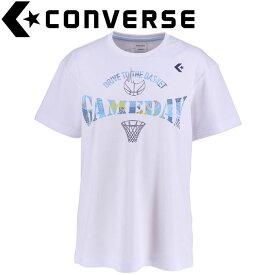 【メール便対応】コンバース プリントTシャツ レディース CB391301-1129