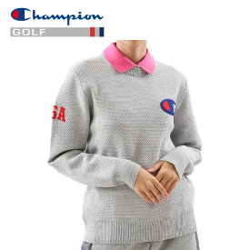 【送料無料】【あす楽対応】チャンピオン ゴルフウェア セーター CW-PGA01-070 レディース 2019春夏