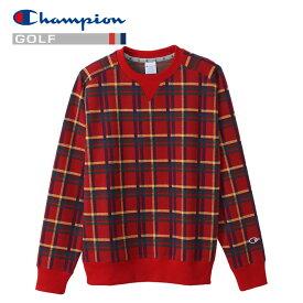 【あす楽対応】チャンピオン ゴルフ スウェットシャツ クルーネック C3-SG001-940 メンズ 2020 秋冬