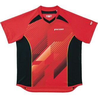 ○VICTAS乒乓球游戏衬衫V-SW023 031454-0040男女两用