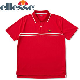【メール便対応】エレッセ テニス ポロシャツ メンズ レディース ETS06300-RR