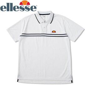 【メール便対応】エレッセ テニス ポロシャツ メンズ レディース ETS06300-WN
